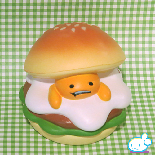 Gudetama Burger Squishy