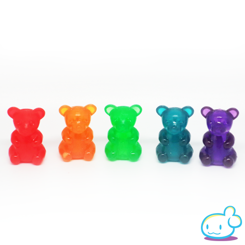 Gummy Bear Squishy Scented Pencil Topper ? Squishy Party