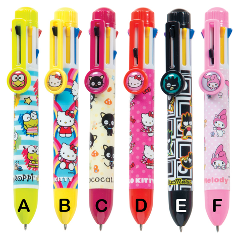 Hello Kitty® 8 Color Rainbow Pen