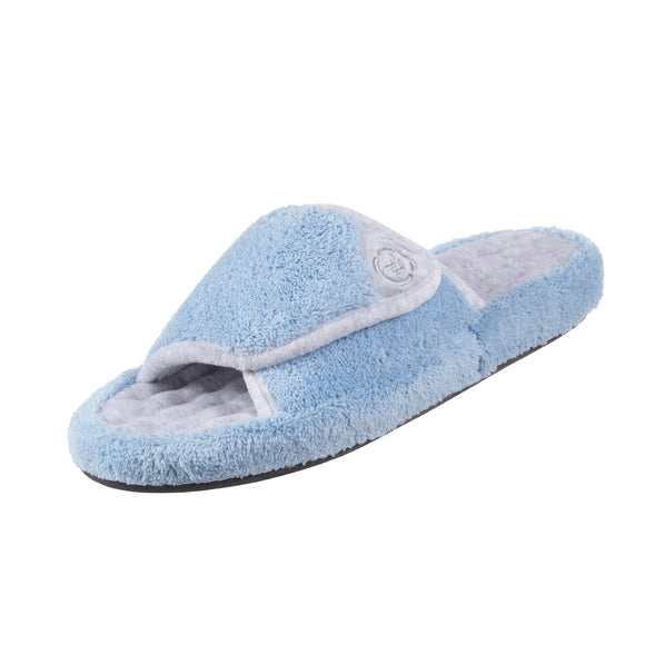 Isotoner Women's Microterry Spa Slide Slippers