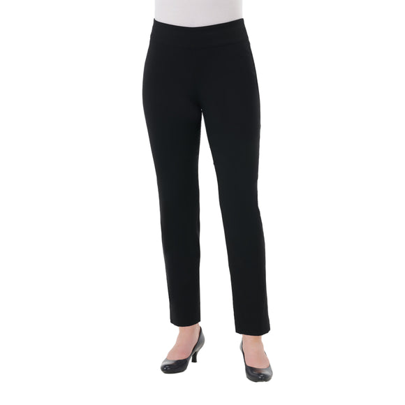 Ankle Pants Pull-On Tech Stretch Modern Comfort in Black