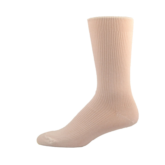 Easy Top - Non-Elastick Socks in White, Ivory, Sand, Charcoal, Navy & Black