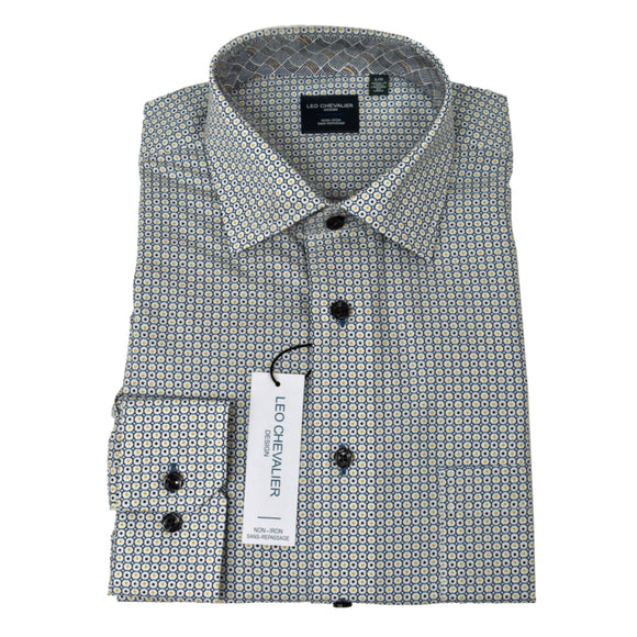 Dress Shirt - Long Sleeve - 100% Cotton - Non Iron