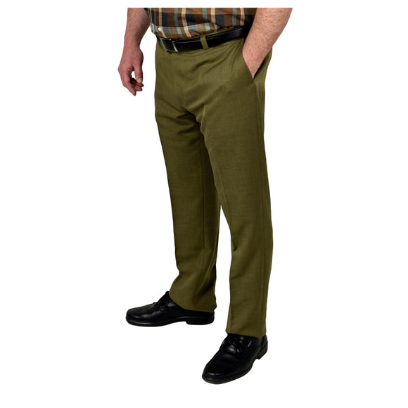 Men's Dress Pants with expandable waist