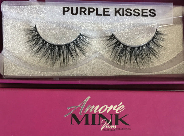 AMORE' MINK LASHES by Vixens Hair Bar Collection