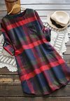 2017 Love To Have Plaid Dress