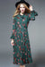 Desirable Details Green Floral Dress