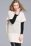 Ellady Bat Sleeve Hollow Out Fall Sweater