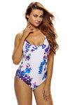 Ellady Beach Time Floral One Piece Swimsuit