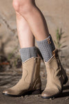 Ellady Button Down Boot Cuffs