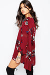 Ellady Floral Puff Sleeve Dress