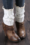 Ellady Hollow Crochet Girls Lace Trim Boot Cuffs