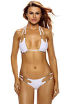 Ellady Hot Girl Halter Bikini Set