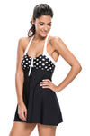Ellady Polka Dot One-piece Swimdress