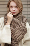 Ellady Thick Knitted Winter Warm Scarf