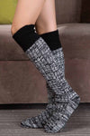 Ellady Women Winter Cable Knit Boot Socks