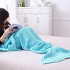 Ellady Girls Crochet Mermaid Tail Blanket