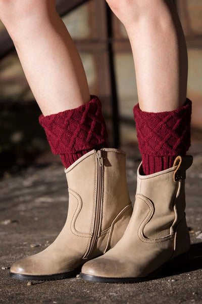 Ellady Short Leg Warmer Crochet Boot Cuffs