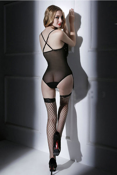 Ellady Tassel One Piece With Stockings