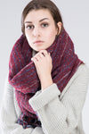 Ellady Classic Cashmere Feel Striped Scarf