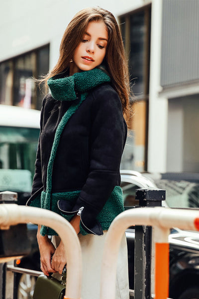 Ellady Lapel Long Sleeve Warm Coat