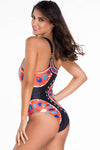 Ellady Single Shoulder One-Piece Bikini