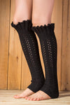 Ellady Winter Cable Knit Leg Warmers