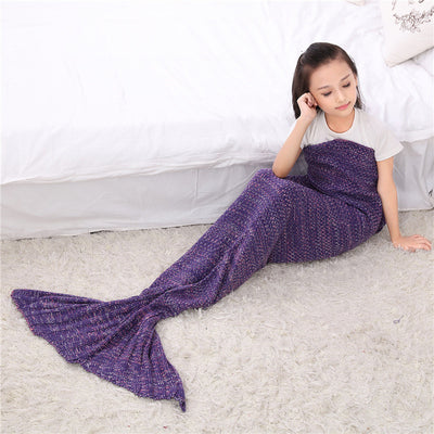 Ellady Kids Mermaid Tail Blanket
