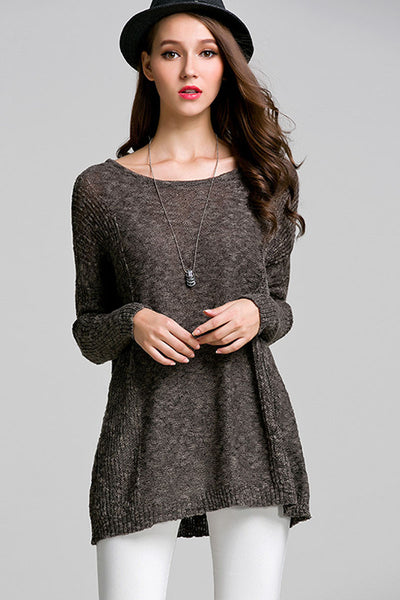 Ellady Casual Style Long Sleeve Sweater
