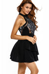 Ellady Irregular Layered Skater Dress