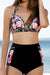 Ellady Floral High-Waisted Swimsuit