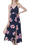 Ellady Floral Spaghetti Strap Split Dress