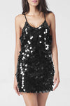 Ellady Sexy V-neck Backless Sequin Party Dress