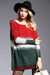 Ellady Color Block Knit Pullover Sweater