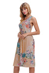 Ellady Fall In Love with Floral Print Dress