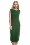 Ellady Green Casual Long Sweater Dress