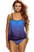 Ellady Purple Lace Overly Tankini