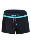 Popkini Side Split Waistband Swim Shorts for Women