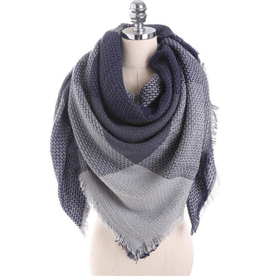 Thick Warm Blanket Scarves Wraps