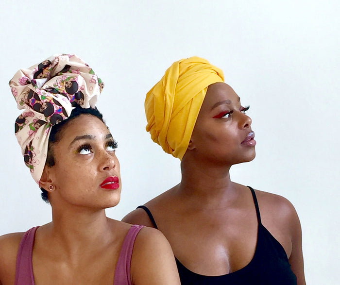 The Flowerum Head wrap