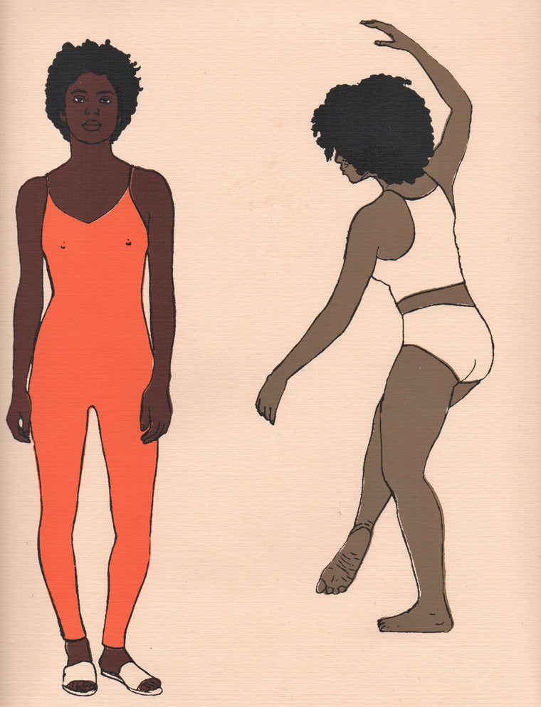 Dancers and Sisterhood Print - LIMITED EDITION