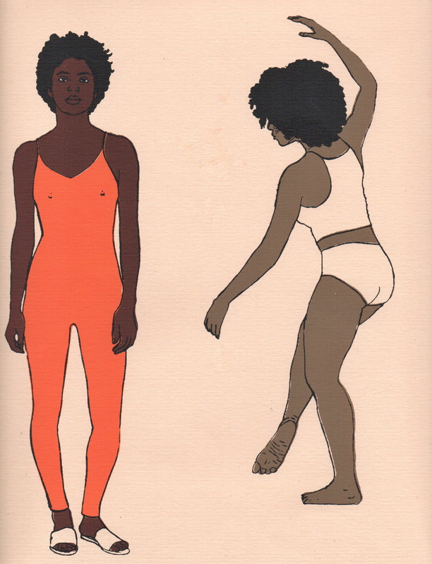 Dancers and Sisterhood Print