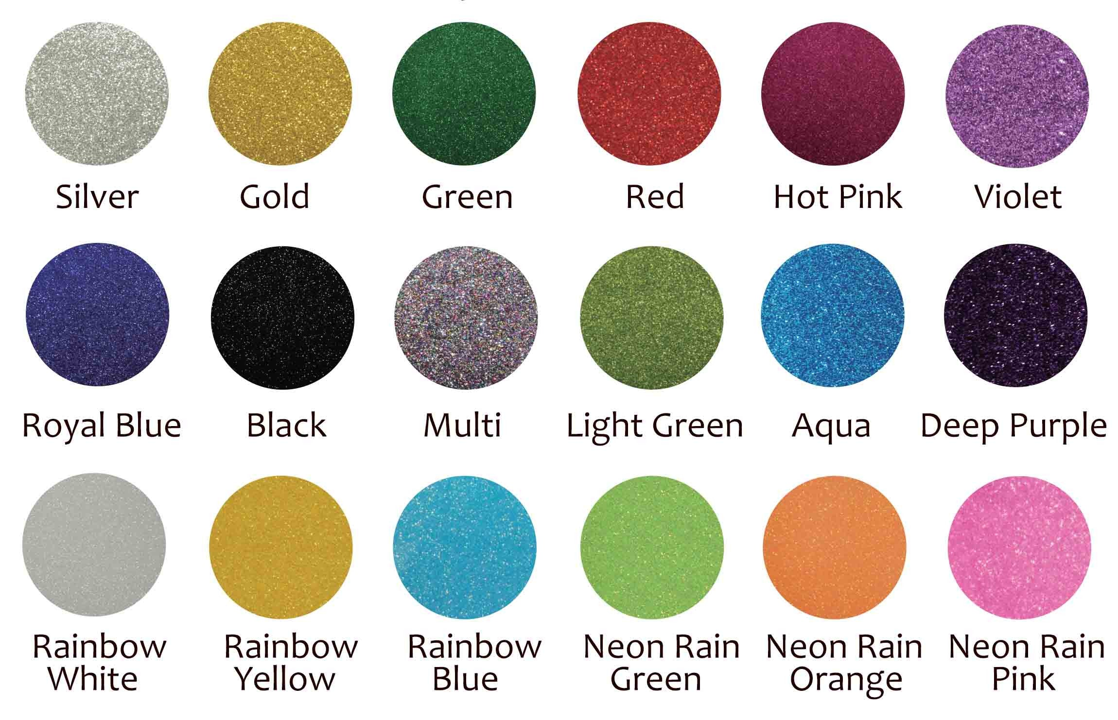Image of 18 Color Glitter Variety Pack