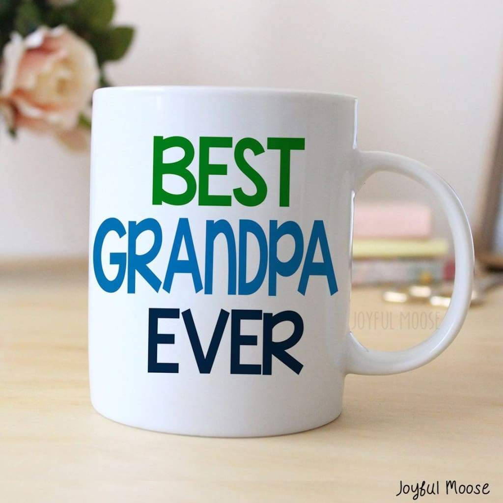 Best Grandpa Ever Coffee Mug - Father's Day Gift for Grandpa - Coffee Mug for Grandfather
