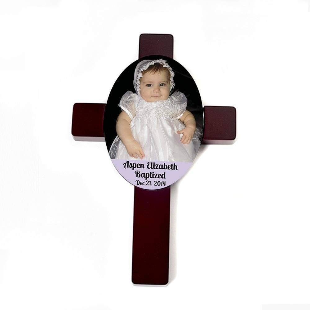 Custom Baptism Gift - Baby Christening Personalized Cross