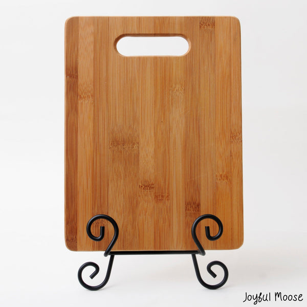 The Mountains are Calling and I must go Bamboo Cutting Board