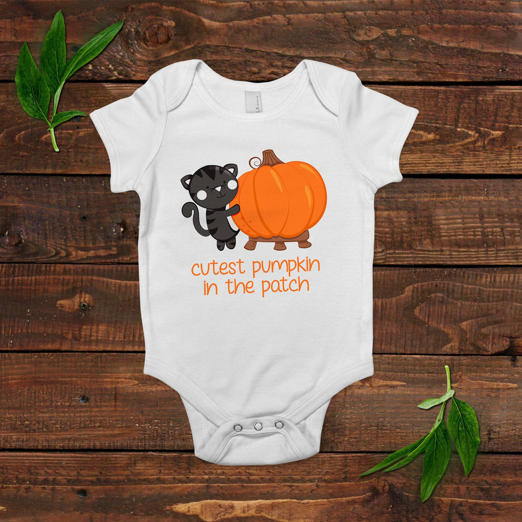 Fall Baby Outfit - Pumpkin Baby Bodysuit - Baby Shower Gift