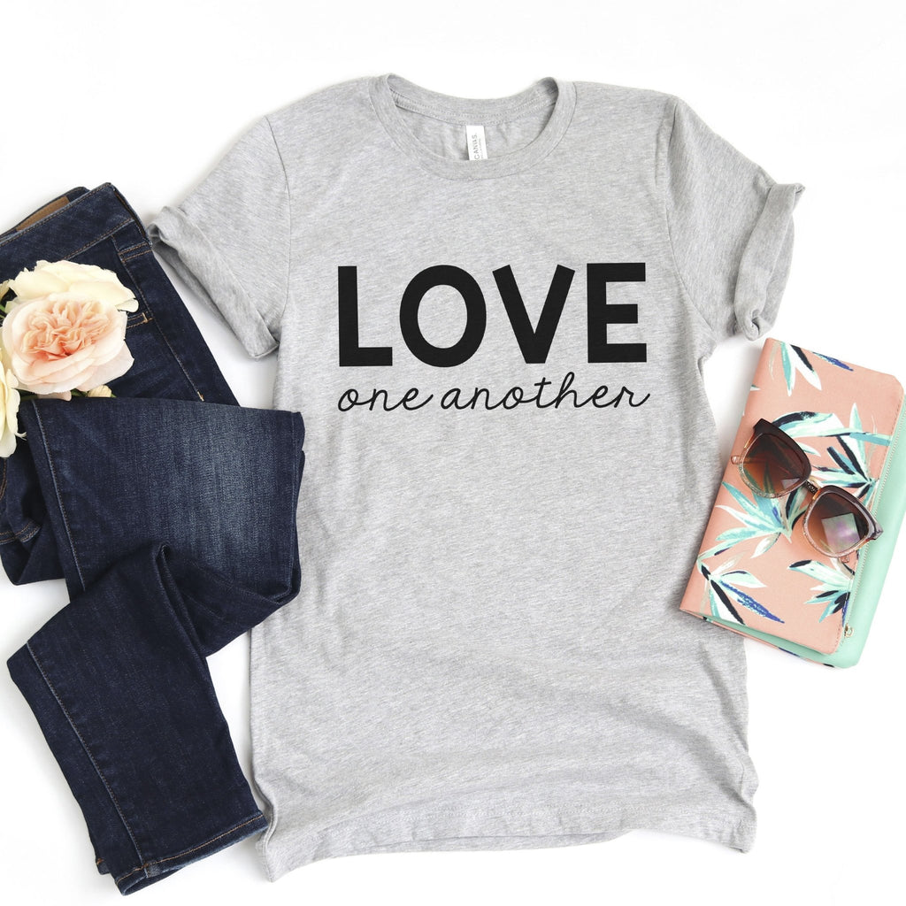 Love One Another Tshirt, Peace Equality T-shirt, Protest Shirt, Lives Matter Tee
