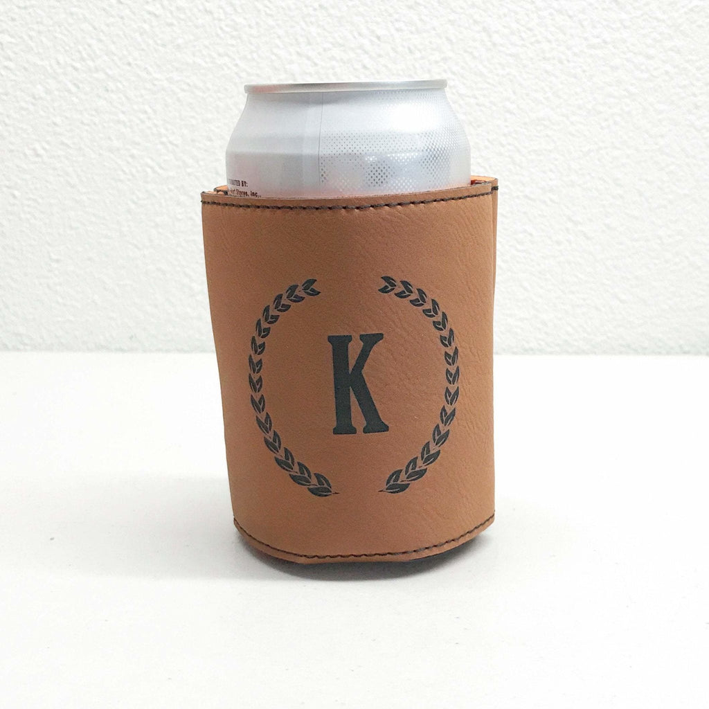 Personalized Can Holder, Gift for Him, Engraved Beer Can Cooler, Custom Beer Cooler, Beer Bottle Holder