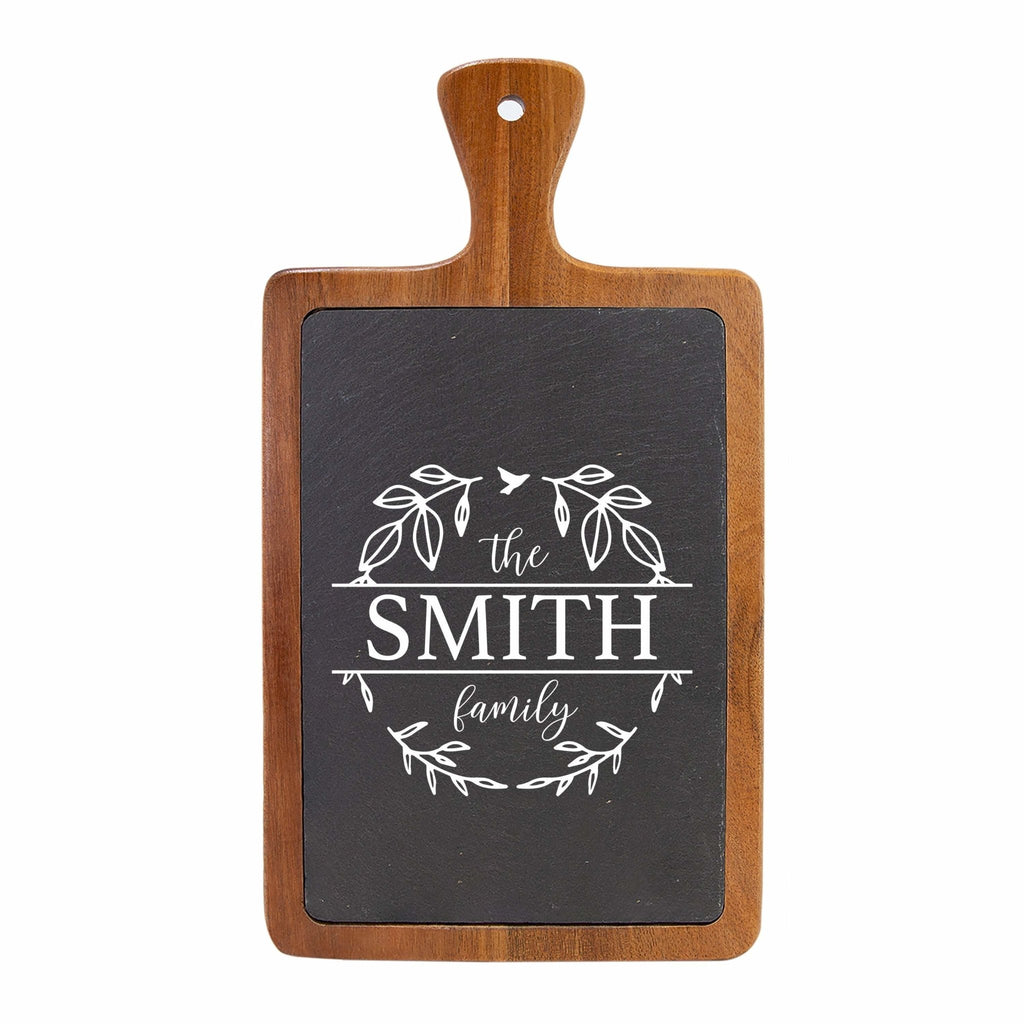 Personalized Slate Cutting Board, gift for couple, Custom Kitchen Decor, wedding gift